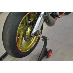 Protection axe de roue arrière Melotti Racing