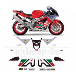Kit Adhésif Aprilia RSV 1000 2004 Bol D'or DEC00000547 DECALMOTO