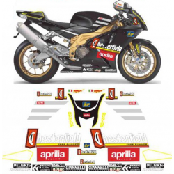 Kit Adhésif Aprilia RSV 1000 CHESTERFIELD BIAGGI replica DEC00000642 DECALMOTO