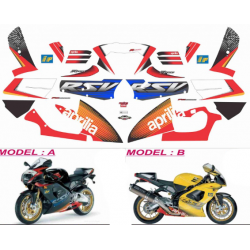 Kit Adhésif Aprilia RSV 1000 MS Moto GP Replica