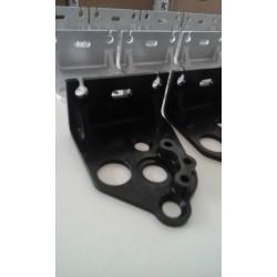 Supports de poulies de valves - Aluminium taillé masse anodisation NOIRE - Aprilia RS 250 / Suzuki RGV 250 - BC ENGINEERING B...