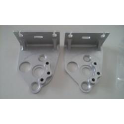Supports de poulies de valves BC Engineering aluminium taillé masse anodisation naturel Aprilia RS 250 et Suzuki RGV 250 BCVJ...