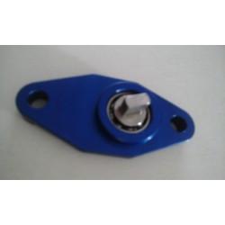 Platine avec roulement de suppression de pompe à huile Rotax 122/123 - Aluminium taillé masse - Bleu - BC ENGINEERING BCAP012...