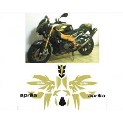 Kit adhésifs Aprilia Tuono 1000 - 2006 - Dark Lyon DEC00000179 DECALMOTO
