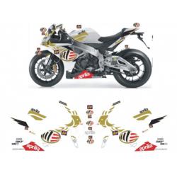 Kit adhésifs Aprilia RSV4 1000 REPLICA MS MOTO GP TRIBUTE DEC00002499 DECALMOTO