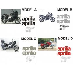 Kit adhésifs Aprilia ETV 1000 CAPONORD DEC000001900008 DECALMOTO