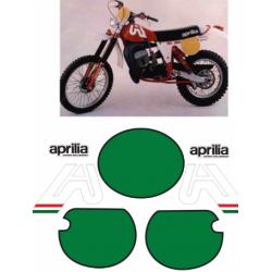 Kit adhésifs Aprilia RC MX 1979 DEC00000190001 DECALMOTO