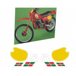 Kit adhésifs Aprilia RC MX 50 - 80 DEC00000190000 DECALMOTO