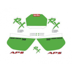 Kit adhésifs Aprilia RX 50 DEC00001105 DECALMOTO