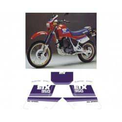 Kit adhésifs Aprilia ETX 350 1987 DEC00000190004 DECALMOTO