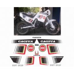Kit adhésifs Cagiva COCIS 1990 LUCKY EXPLORER DEC00002088 DECALMOTO