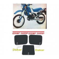 Kit adhésifs Cagiva ELEFANT 125 1984 DAKAR DEC00002113 DECALMOTO