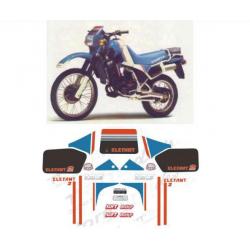 Kit adhésifs Cagiva ELEFANT 2 125 1985 DAKAR LE DEC00002049 DECALMOTO