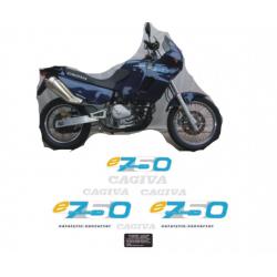 Kit adhésifs Cagiva ELEFANT 750 AC 1995 DEC000020691 DECALMOTO
