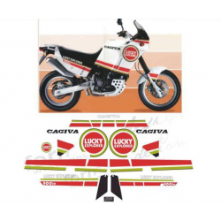 Kit adhésifs Cagiva ELEFANT 900 I.E. 1990 LUCKY EXPLORER DEC00002082 DECALMOTO