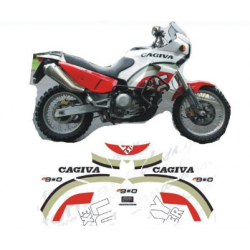 Kit adhésifs Cagiva ELEFANT 900 1995 LUCKY EXPLORER DEC00002044 DECALMOTO