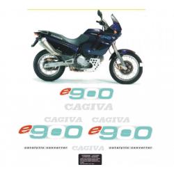 Kit adhésifs Cagiva ELEFANT 900 AC 1995 DEC00002064 DECALMOTO