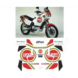 Kit adhésifs Cagiva ELEFANT 900 MARATHON LUCKY EXPLORER DEC00002110 DECALMOTO