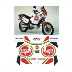 Kit adhésifs Cagiva ELEFANT 900 MARATHON LUCKY EXPLORER DEC00002110 DECALMOTO