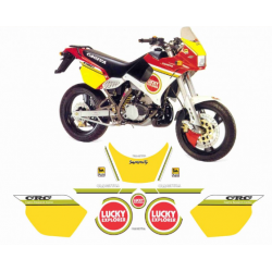 Kit adhésifs Cagiva 125 SUPERCITY LUCKY EXPLORER DEC000020871 DECALMOTO