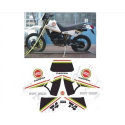 Kit adhésifs Cagiva T4 350 LUCKY EXPLORER DEC00002094 DECALMOTO