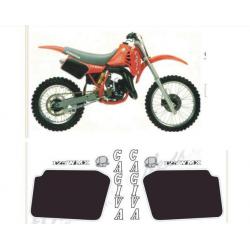Kit adhésifs Cagiva WMX 125 1985 DEC00002059 DECALMOTO