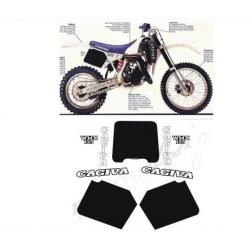 Kit adhésifs Cagiva WMX 125 1988 DEC00002051 DECALMOTO