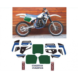 Kit adhésifs Cagiva WMX 250 1989 U.E. DEC00002076 DECALMOTO