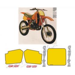 Kit adhésifs Cagiva WMX 500 1984 DEC00002055 DECALMOTO