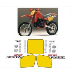 Kit adhésifs Cagiva WMX 500 1986 DESERT DEC00002097 DECALMOTO