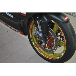 Protection pied de fourche Melotti Racing