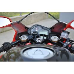 Té de fourche supérieur à clé Aprilia RSV4 1000 09-14 - MELOTTI RACING PS 54-09 RR MELOTTI RACING