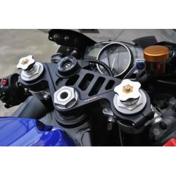 Té de fourche supérieur à clé Yamaha R6 06-16 - MELOTTI RACING PS 20-06 RR MELOTTI RACING