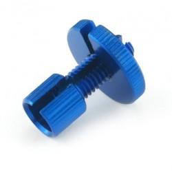 Tendeur de câble Aluminium M8 - Bleu - PRO-BOLT LCA10B PRO-BOLT