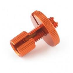 Tendeur de câble Aluminium M8 - Orange - PRO-BOLT LCA10O PRO-BOLT