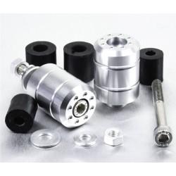 Embouts de guidon Aluminium Universels - Aluminium - Pro-Bolt BARENDUN10AL PRO-BOLT