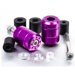 Embouts de guidon Aluminium Universels - Violet - Pro-Bolt BARENDUN10V PRO-BOLT