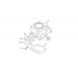 Ecrou d'embase de cylindre pour Aprilia 125 - Rotax 122/123 - Aprilia OEM AP0942674 Aprilia OEM