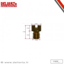 Gicleur de ralenti 4 mm - PHBN/PHVA/PHBH - DELLORTO 11600_XXX DELL'ORTO