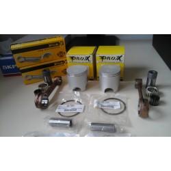 Pack 2 pistons + 2 bielles Aprilia RS 250 / RGV 250/125 - PROX KIT.03.3349+01.3359 PROX