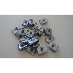 Pack de 10 Agrafe Ecrou M5 d'origine Aprilia - APRILIA OEM PACK.AP8102375 Aprilia OEM