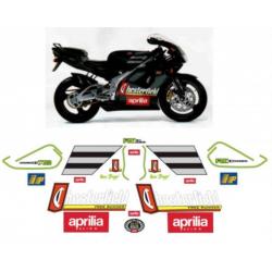 Kit adhésifs Aprilia RS 125 1996 1997 Chesterfield Biaggi Replica DEC00000179001 DECALMOTO