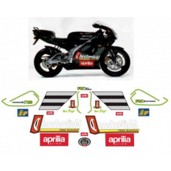 Kit adhésifs Aprilia RS 125 1996 1997 Chesterfield Biaggi Replica