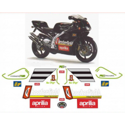Kit adhésifs Aprilia RS 250 1996 1997 Chesterfield Biaggi Replica