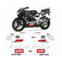 Kit adhésifs Aprilia RS 125 1998 Tetsuya Harada Replica DEC0000019039 DECALMOTO